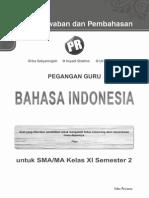 Kunci Jawaban Pr Bahasa Indonesia 11b_2013
