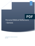 Personal Bible Reflections - Genesis