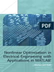 245893173 Nonlinear Optimization in Electrical Engineering With Applications in MATLAB 2013