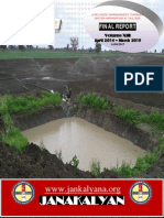 Livelihood Improvement of tail end farmers in Sandbox Volumen XIII G2A FR Apr 2014-Mar 2015`