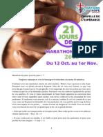 21 Jours de Marathon de Prière 2015