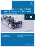 Software Engineering for Embedded Systems Distan Eng 215368