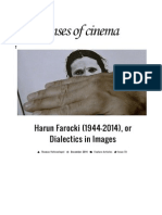 Harun Farocki Film Analysis • Senses of Cinema