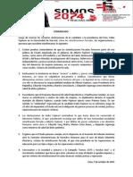 Comunicado frente a declaraciones de Keiko Fujimori sobre esterilizaciones forzadas