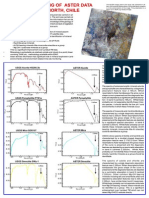 Spectral Unmixing of Aster Data Escondida North Chile