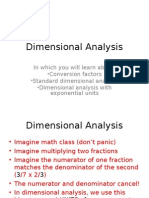 Dimensional Analysis - Copy