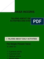 Talking About Daily Activities and Events