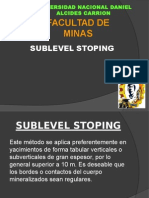 Sublevel Stoping2
