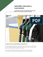Clases de Combustibles Alternativos