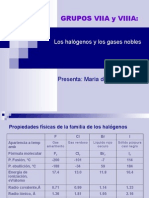 Halógenos y Gases Nobles