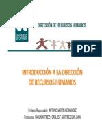 Tema 1 Recuros Humanos