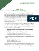 Delegate Preparation Guide - Position Paper