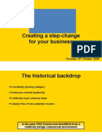 Creating a Step-change for Your Business