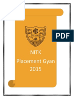 NITK Placement Gyan 2015