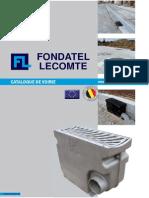 Catalogus Voirie Fondatel Lecomte