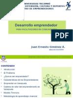 Desarrollo Emprendedor Para Facilitadores en Comunidades