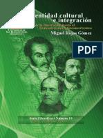 Identidad Cultural e Integración