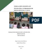Estimulacion Cognitiva en Infantil