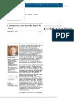 Corrupción, Una Mirada Desde La Ética _ El Universal