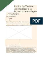 Bruno Seminario Turismo podría reemplazar a la minería y evitar un colapso económico_925.doc