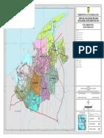 Peta Administrasi Kota Banda Aceh (RTRW 2009-2029)