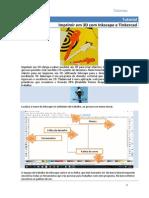 Tutorial 3D com Inkscape e Tinkercad