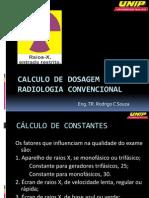 Calculo de dosagem de Raios-X para radiologia convencional