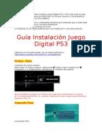 Instructivo PS3 PS4