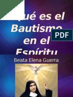 Tema N 03 Que Es Bautismo en El Espiritu Santo