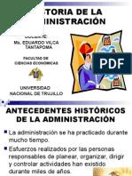 Historia de La Administrfgación