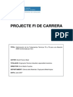 Optimización de los Tratamientos Térmicos T5 y T6 para una Aleación A356 Conformada por SLC