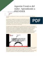 La Investigación Creativa del Consumidor_QUIÑONEZ1017.doc