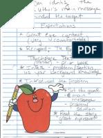 observed lesson informal ct feedback