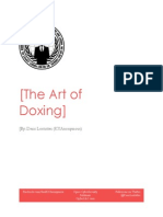 The Art of Doxing - Deric Lostutter