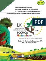 Memoria Resumenes PCCMCA 2015