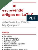 Oficina Escrevendo Artigos No LaTeX