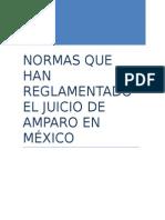 Las Leyes de Amparo en México