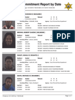 Peoria County booking sheet 10/11/15