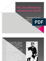 Life of Mohandas Gandhi