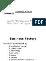 Busines Factors