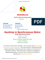 Hunting in Synchronous Motor _ Electrical4u.pdf