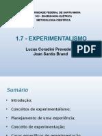 Metodologia-experimentalismo