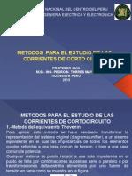 Métodos Para El Estudio de Las Corrientes de c.c.