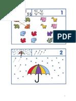 Grafomotricidad en colores 4 -5 años