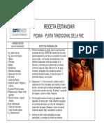 Recetas de Comida Tradicional de La Paz