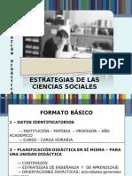 Estrategias de Las Ciencias Sociales