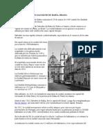 Breve Historia de Salvador de Bahía