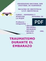 Traumatismo Durante El Embarazo