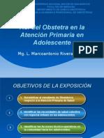 1. Ponencia - Rol Del Obstetra en La Atencion Primaria en Ad