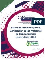 Marco de Referencia CACEI Junio 2015